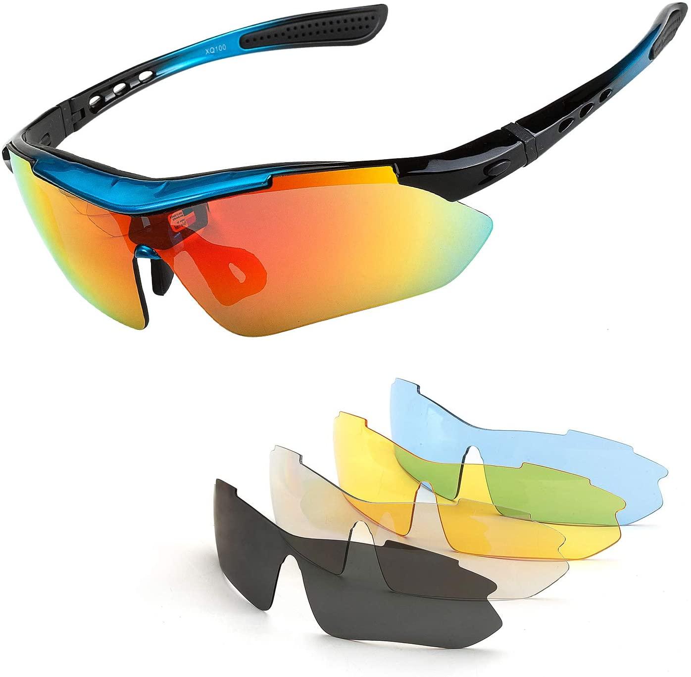Polarized Sunglass Men Women Sport Driving Cycling Eyewear Fishing Square UV400